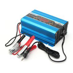 12V 20A 200ah LED Display Engine Three Phase Digital Smart Battery Charger