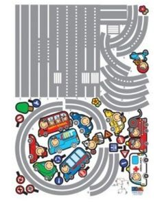 Wall Stickers for Kids Stick Wall Decals Decoration Wall Sticker Decal - Racing Track by bigbvg, http://www.amazon.com/dp/B008AC0UJG/ref=cm_sw_r_pi_dp_QKebqb0KZMGBV