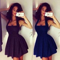 Sexy Women Summer Casual Dresses Sleeveless Cocktail Short Mini Dress #UnbrandedGeneric #Dress #Cocktail