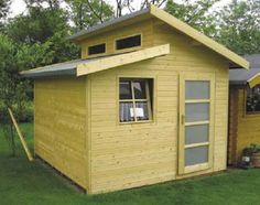 Contemporary Sheds | Shed Designs and Plans – The Different Contemporary Style Sheds ...