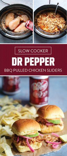 The savory-meets-sweet flavor combination is one we will always cheer for. For even more things to root for this football season, check out this recipe for Slow Cooker Dr Pepper® BBQ Pulled Chicken Sliders! This creative dish idea is sure to be a hit on your game day menu thanks to the easy prep and bold flavors. Score the ingredients for these sandwiches and all the essentials you need for your football party at a store near you.