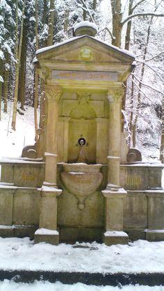 Fountain, Gazebo, Outdoor Structures, Statue, Outdoor Decor, Painting, Home Decor, Art, Fuentes De Agua