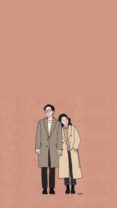 Cute Couple Drawings, Cute Couple Art, Cute Drawings, Kawaii Wallpaper, Cartoon Wallpaper, Couple Illustration, Illustration Art, Cute Couple Wallpaper, Cute Art Styles
