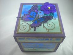 Explosion Box Card by jray - Cards and Paper Crafts at Splitcoaststampers