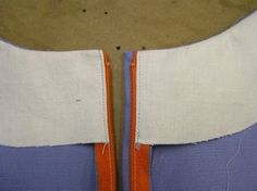 Lapped zipper construction - with facing. From Kathleen Fasanella's blog: http://fashion-incubator.com/archive/lapped_zipper_construction/