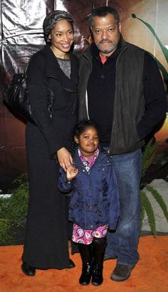 Gina Torres and family