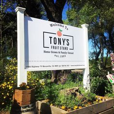 """We spent the morning enjoying the beautiful weather and bountiful variety of seasonal produce canned jams and pickled products as well as dried fruits and nuts at @tonysfruitstand. It's finally spring in America's Farm to Fork Capital!  #visityubasutter #tonysfruitstand #farmtoforkcapital"" via @visityubasutter"