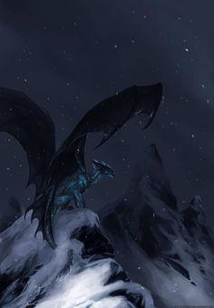 Snow Dragon, Dragon 2, Black Dragon, Magical Creatures, Fantasy Creatures, Fantasy World, Fantasy Art, Dragon Tales, Dragon Heart