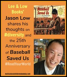 Lee & Low Books has always had a passion and commitment to diversity in children's literature. We sat down with publishing exec, Jason Low, to get his thoughts on diversity and to learn about a very exciting milestone for one particular Lee & Low book. Chapter Books, Children's Literature, Book Themes, 25th Anniversary, Historical Fiction, Book Recommendations, Book Publishing, Book Lists, Diversity