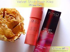 Il Taccuino dell'Elfa: Velvet Stick Blush 05 Verve Peony Kiko