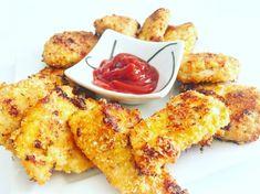 VIDEORECEPT: Parmezánové kuracie nugetky pre deti i dospelých Chicken Wings, Meat, Food, Essen, Yemek, Meals