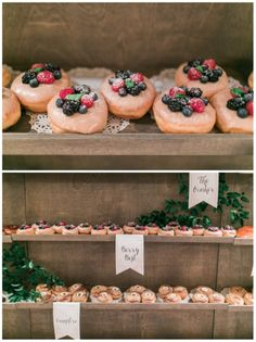 Donut Wall | Details Details Weddings and Events | Troy Grover Photographers | Donuts from Donut Snob