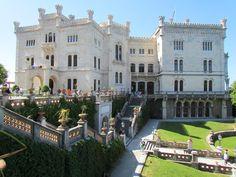 Castello Miramare and Rovinj, Croatia
