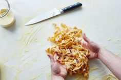 Here's how to make pasta dough with your senses, not numbers. Its all about your five senses. Italian Dishes, Italian Recipes, Italian Pasta, Pasta Recipes, Cooking Recipes, Recipe Pasta, Yummy Recipes, Cooking Tips, Recipies