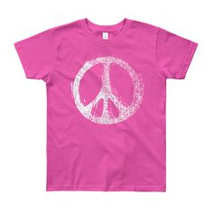 Now available in our store. Check it out here http://j-s-graphics.myshopify.com/products/peace-sign-youth-short-sleeve-t-shirt?utm_campaign=social_autopilot&utm_source=pin&utm_medium=pin