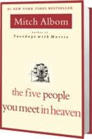 Mitch Albom - absolutely one of my favorite authors. This is an amazing, thought-provoking book.