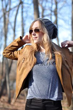 I'm so excited for fall. That beanie is just :)) perfect! haha i wish i had that jacket. @ROXY @Beth Tauer.sleep.wear.