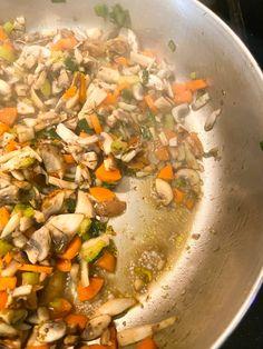 Easy Vegan Wellington (Step-By-Step Recipe) - Wow, It's Veggie?! Vegan Christmas, Vegan Thanksgiving, Vegan Wellington, How To Cook Mushrooms, Vegan Butter, Whole Food Recipes, Vegetarian Recipes, Stuffed Mushrooms, Veggies
