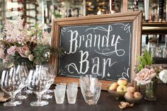 Okay, this is a must-have wedding bar accessorry!!!    romantic , vintage , rustic, bar, blue, catering, chic, decor, decoration, decorations, details, drink, drinks, event, food, mesa, reception, stationary, styling, table, theme, black, glamorous, white, new, purple, wedding, york, New York