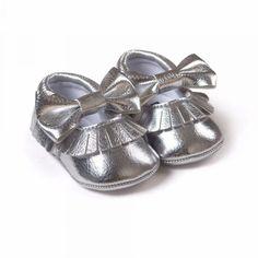 Sapatos Da Moda Para Primeiros Caminhantes 0-2 Anos de Idade. Franja de Algodão Tecido de Algodão.