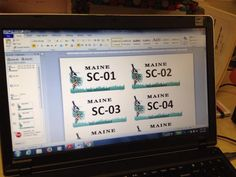License plates for safety city activity