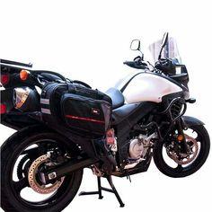 En #SLIK accesorios tenemos estas #alforjas que harán de tu viaje en moto, una experiencia más agradable y cómoda.
