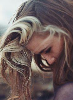 blonde streaks freckles redhead