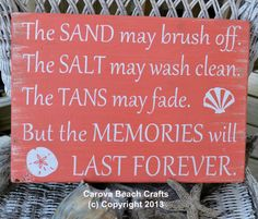 Beach Decor Beach Signs The Sand May Brush by CarovaBeachSignCo
