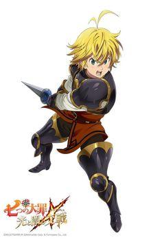Game : Nanatsu no Taizai Hikari to Yami no Grand Cross. Seven Deadly Sins Anime, 7 Deadly Sins, Anime Figures, Anime Characters, Ban E Elaine, Character Concept, Character Art, Sir Meliodas, Meliodas And Elizabeth