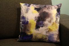 watercolor cushion neon blue grey http://www.alittlemarket.com/textiles-et-tapis/fr_coussin_en_tissu_motif_graphique_abstrait_nuage_watercolor_-15771209.html