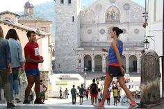 Don Matteo e la maratona in Piazza Duomo