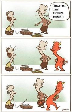 The devil really ought to learn how to share.