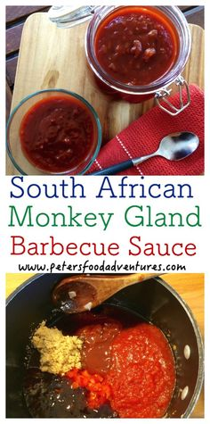 A delicious bbq sauce with a crazy name! South African Monkey Gland Barbecue Sauce Recipe A delicious bbq sauce with a crazy name! South African Monkey Gland Barbecue Sauce Recipe Related posts: No related posts. South African Braai, South African Dishes, South African Recipes, Braai Salads, Barbecue Sauce Recipes, Bbq Sauces, Grilling Sides, Tomato Relish, Cooking On The Grill