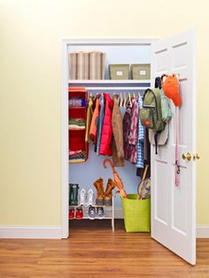 Simple Tips For Organizing Your Front Hall Closet. Check It Out!