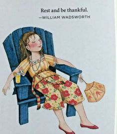 How Beautiful It Is To Do Nothing-Mary Engelbreit Magnet Mary Engelbreit, My Goals, Good Thoughts, Positive Thoughts, Make Me Smile, Aurora Sleeping Beauty, Inspirational Quotes, Motivational, Words