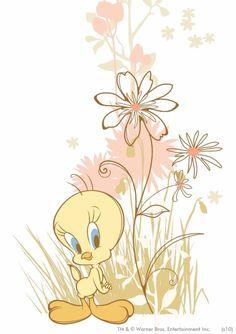 Wallpaper Doodle, Bird Wallpaper, Iphone Wallpaper, Tweety Bird Quotes, Looney Tunes Wallpaper, Looney Toons, Josi, Favorite Cartoon Character, Cute Images