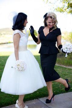 Chic Vintage Bridesmaids Dresses