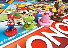 Monopólio e Super Mário juntos num jogo de tabuleiro