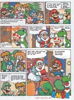 Nintendo xmas with Capcom's Megaman comic