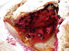 The Bojon Gourmet: Apple-Huckleberry Pie, with Sourdough Pate Brisee
