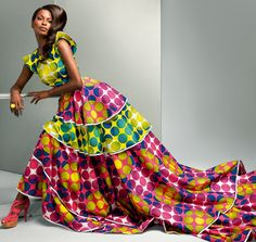 Vlisco Frozen Dreams collection | CIAAFRIQUE ™ | AFRICAN FASHION-BEAUTY-STYLE