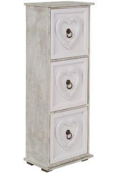 Comoda cu 3 sertare Nilo MDF 68x24x15 cm Filing Cabinet, Storage, Furniture, Vintage, Home Decor, Purse Storage, Decoration Home, Room Decor, Larger