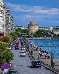 The City of Thessaloniki Greece Information, Acropolis, Thessaloniki, He's Beautiful, Macedonia, Ancient Greece, Greece Travel, Athens, Places To Visit
