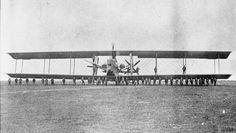 Siemens-Schuckert R.VIII prototype heavy bomber.