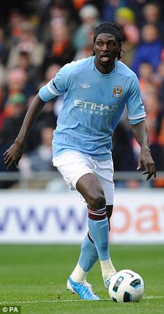 The Togolese in action for City