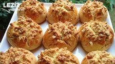 Orange Walnut Cookies - My Delicious Food- Portakallı Cevizli Kurabiye – Leziz Yemeklerim Orange Walnut Cookies - Mini Desserts, Desserts Keto, Easy Desserts, Dessert Recipes, Walnut Cookies, Walnut Cake, Orange Cookies, Food Cakes, Easy Easter Recipes