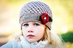 Winter Blossom Hat - paid crochet pattern