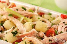 Receita de Salada de peru refrescante em receitas de saladas, veja essa e outras receitas aqui!