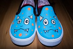 Hey, I found this really awesome Etsy listing at https://www.etsy.com/listing/194717979/toddlers-monster-hand-painted-shoes