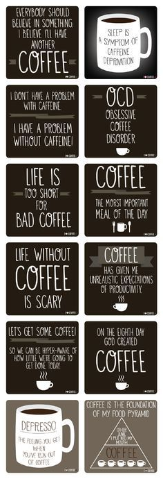 I love coffee quotes. I collected my favorite 12 coffee quotes. Coffee Is Life, I Love Coffee, Coffee Art, My Coffee, Coffee Cups, Coffee Lovers, Coffee Break, Coffee Maker, Starbucks Coffee